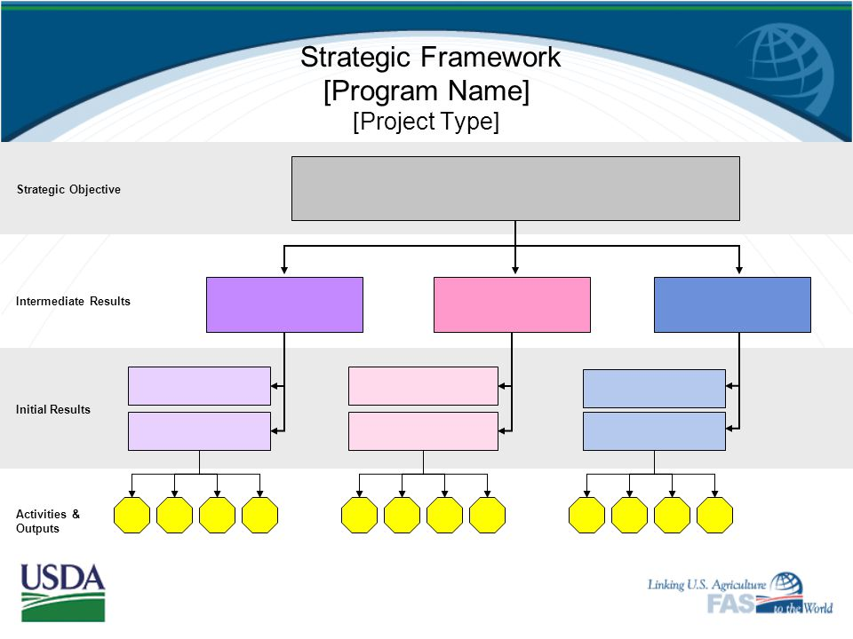 Strategic Framework [Program Name] [Project Type]
